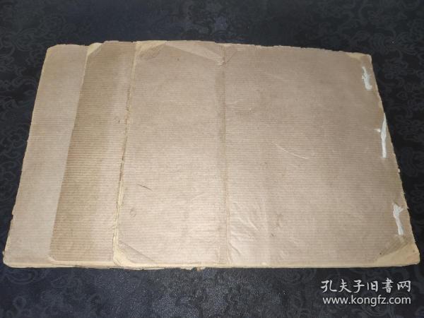 29177民國素白頁一百多張,三厚冊!可用于書法創作,仿古線裝書,古籍修復!紙色泛黃,簾紋明顯!