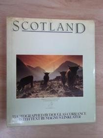 英文书  SCOTLAND CORRANCE LINKLATER   精装本  共160页