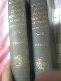 records of the grand historian 史记英文版 汉代部分