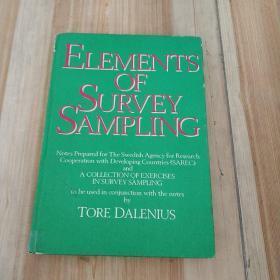 ELEMENTS OF SURVEY SAMPLING (调查抽样要素)