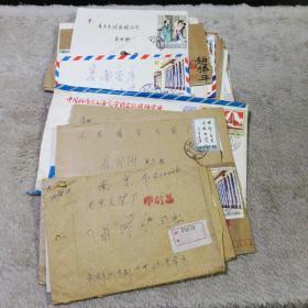 八十年代实寄封 43封 收信人是火花收藏家 翁仰刚