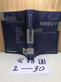判例刑法学(下卷)(中国当代法学家文库;陈兴良刑法研究专著系列)