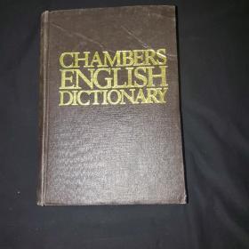 CHAMBERS ENGLISH DICTIONARY(外文正版)