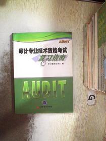 审计专业技术资格考试复习指南 .