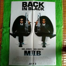 电影海报《黑衣人》