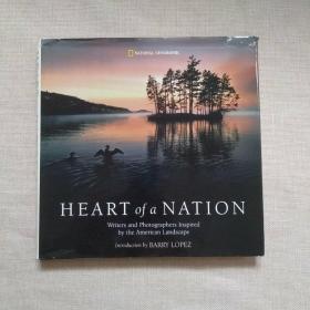 HEART OF A NATION【精装12开】护封有点破