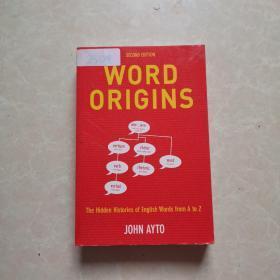 Word Origins/John Ayto