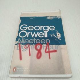 Nineteen Eighty-Four 书内有标线 不影响阅读