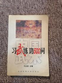 中国武术:习武练功500问