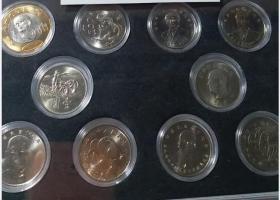 【独家大全套】台湾央行正规发行1950年-2020年全部纪念币大全套10枚【下有介绍】保真正品(不带盒子)