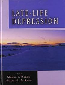 Late-Life Depression-晚年抑郁症