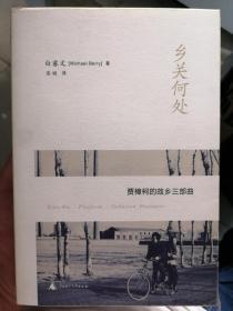 乡关何处:贾樟柯的故乡三部曲([美]白睿文(Michael Berry)  著;连城  译)