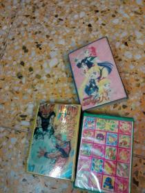 闪卡   204张合售  (七龙珠,美少女等)