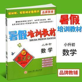 孟建平系列丛书·暑假培训教材:数学(小升初)