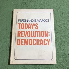 Today's Revolution:Democracy原版精装