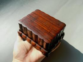 老红木盒 一套 !