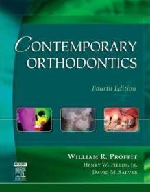 Contemporary Orthodontics-当代口腔正畸学