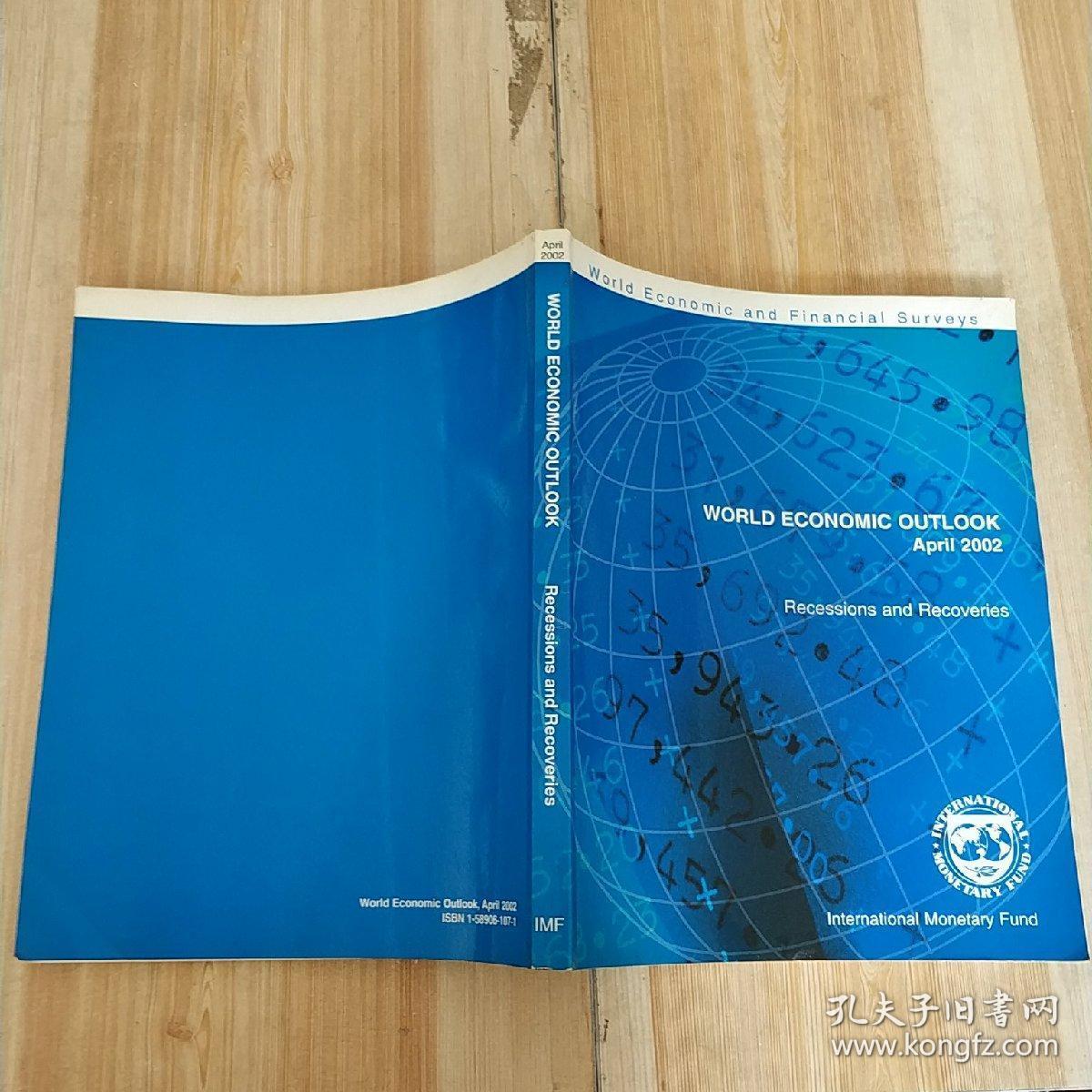 WORLD ECONOMIC OUTLOOK April2002【世界经济展望(前景)】