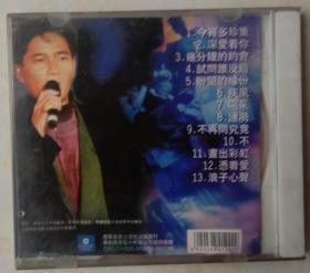 1CD陈百强珍藏版金曲(无休止符纪念金曲)