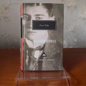 Kafka COLLECTED STORIES  卡夫卡短篇小说集 everymans library 人人文库 英文原版 布面封皮琐线装订 丝带标记 内页无酸纸可以保存几百年不泛黄