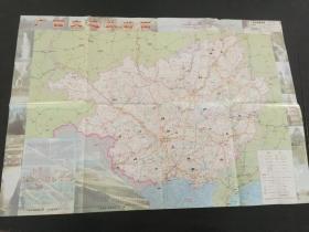 地图:广西交通旅游图