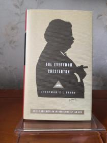 The Everyman Chesterton G. K. Chesterton 吉尔伯特·基思·切斯特顿作品集 everymans library 人人文库 英文原版 布面封皮琐线装订 丝带标记 内页无酸纸可以保存几百年不泛黄