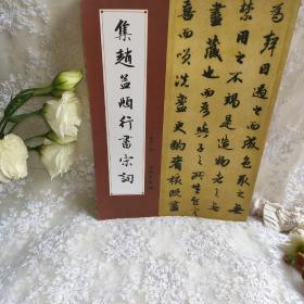 集赵孟頫行书宋词(1)