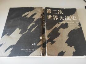 (包刷挂)第二次世界大战史 德军观点 全一册