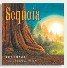 美国插画家Wendell Minor 绘本 Sequoia 红杉树 精装