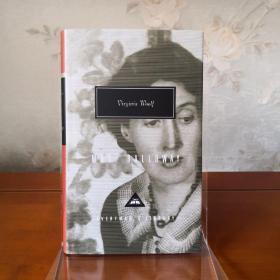 【该本近期不能发货,别付款,可联系确定发货时间】Mrs Dalloway 达洛维夫人 Virginia Woolf 弗吉尼亚·伍尔芙 everyman's library 人人文库 英文原版 布面封皮琐线装订 丝带标记 内页无酸纸可以保存几百年不泛黄