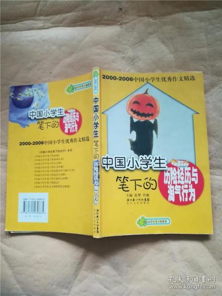 中国小学生笔下的历险经历与淘气行为