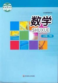 二手华东师范大学出版社初一7七年级下册华师大版数学教材课本