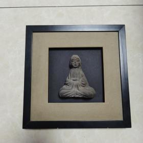 手工砖雕(释迦牟尼佛像)