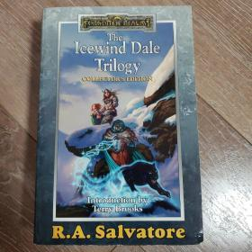 超厚the icewind dale trilogy collector's edition风之谷 奇幻小说