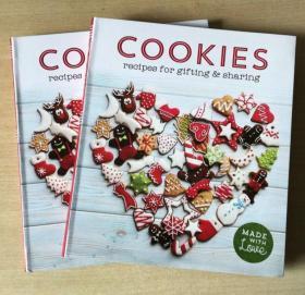 COOKIES 礼品饼干西式创意饼干甜点烘焙烹饪制作技巧美食食谱菜谱