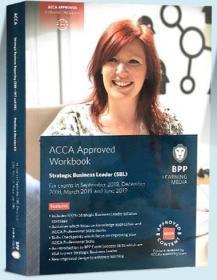 正版二手 BPP2019年ACCA Aproved Workbook SBL战略商业领袖 9781509716470
