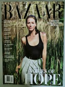 HARPER`S BAZAAR 芭莎2020年夏季版 时尚女士服装英文杂志 美国版