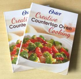creative countertop oven cooking工作台面烤箱烹饪英文美食菜谱