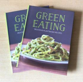 英文Green Eating 绿色植物健康食谱 西餐烹饪技巧及做法美食菜谱