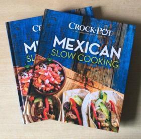 Mexican slow cooking 墨西哥慢烹饪 西餐烹饪技巧英文美食菜谱