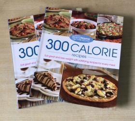 300 Calorie Recipes卡路里 健康减肥食谱西餐烹饪技巧及做法菜谱