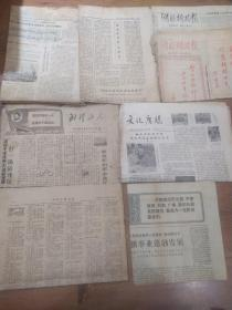 《湖北日报》1979年11月16日,1980年2月23日《湖北科技报》1980年1月18日,1月25日  《武汉工人》1968年10月31日  《文化广场》1980年3月第二期  《湖北广播挢电视》1980年5月5日  4.9元/份