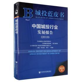 城投蓝皮书-----中国城投行业发展报告(2019)