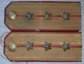 1955年陆军上尉军官佩用肩章