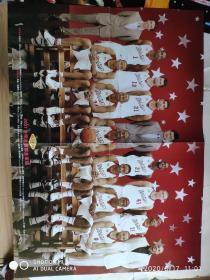 海报2007年 NBA 东西部全明星 全家福 科比 詹姆斯 等人
