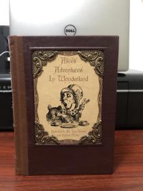 《Alice's Adventures In Wonderland(爱丽丝梦游仙境)》真皮重装本