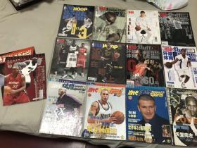 灌篮杂志当代体育NBA时空14本打包合售