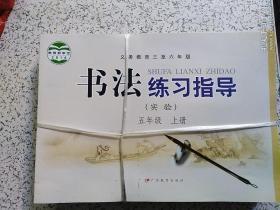 书法练习指导(实验) 五年级上册  【全新】