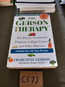 The Gerson Therapy: The Proven Nutritional Program for Cancer and Other Illnesses 英文原版