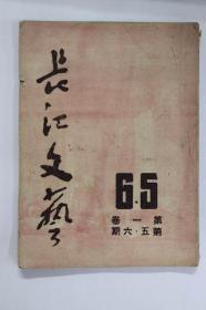 长江文艺(第一卷第5.6合刊)